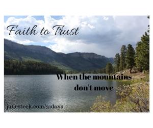 Faith to Trust